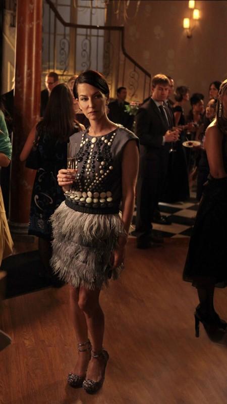 La Clothing Designer Cynthia Rowley nell'episodio War at the Roses di Gossip Girl