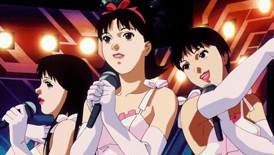 Le Charm in una scena di Perfect Blue