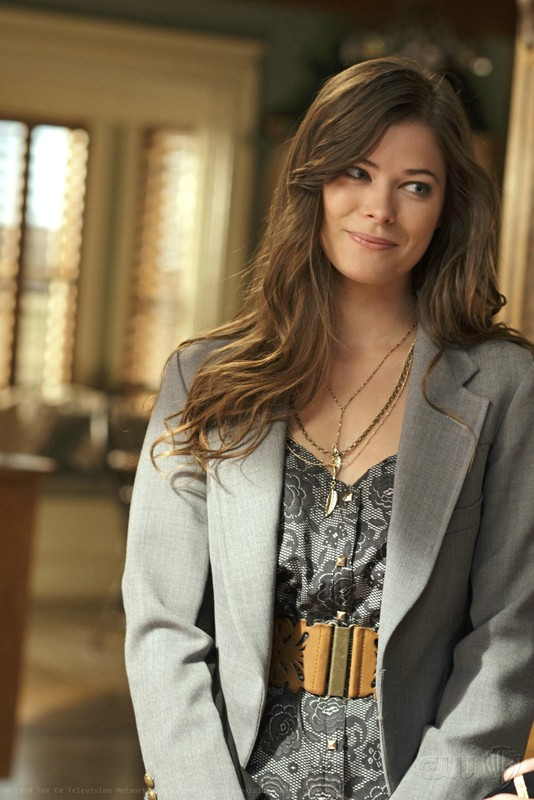 Lucy Lane (Peyton List) in una scena nell'episodio Ambush di Smallville