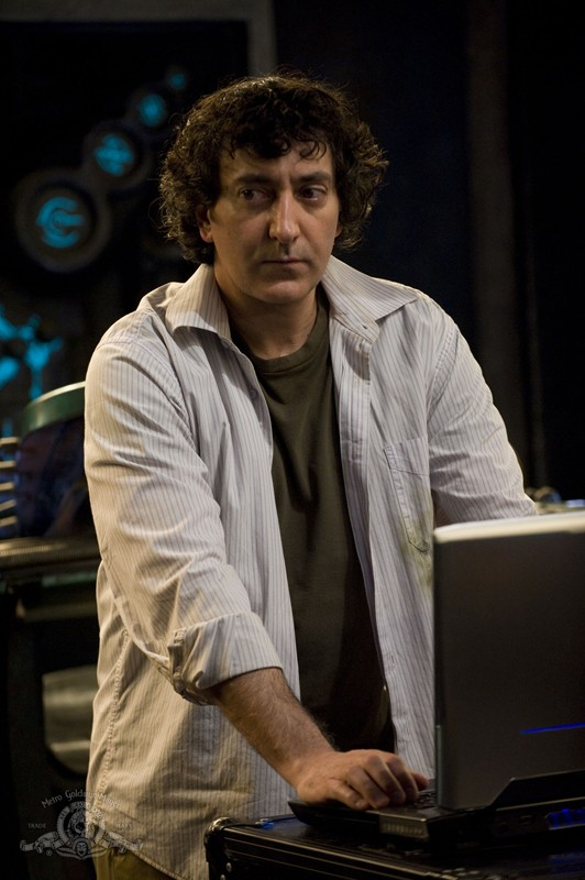 Brody (Peter Kelamis) in una scena dell'episodio Pathogen di Stargate Universe