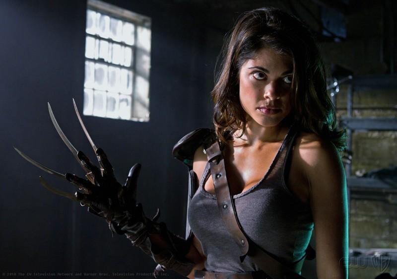 Lindsay Hartley interpreta Harriet nell'episodio Abandoned di Smallville