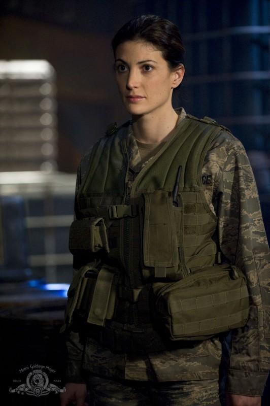 Vanessa James (Julia Anderson) dell'episodio Pathogen di Stargate Universe