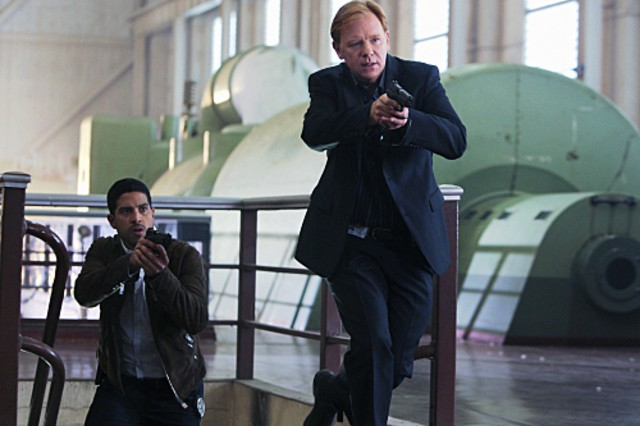 Adam Rodriguez e David Caruso in CSI: Miami nell'episodio Blood Sugar