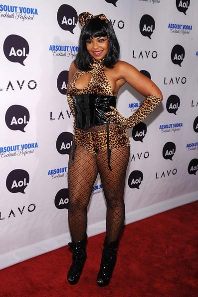 Ashanti all'Heidi Klum's 2010 Halloween Party in New York City