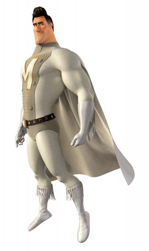 Character poster per Metro Man da Megamind