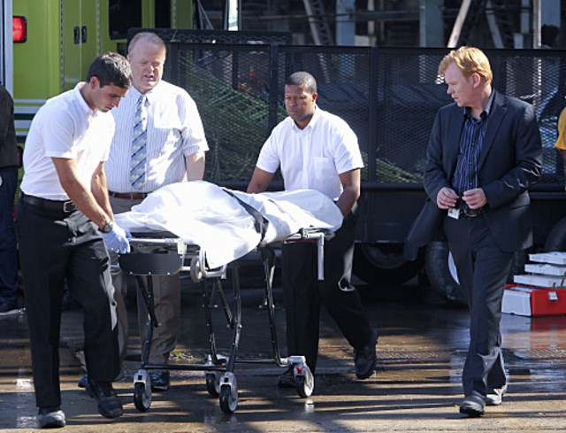 David Caruso in CSI: Miami nell'episodio Blood Sugar