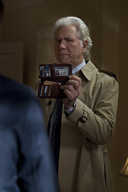 John Larroquette in CSI: New York, nell'episodio Scared Stiff