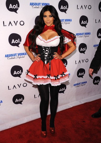 Kim Kardashian all'Heidi Klum's 2010 Halloween Party a New York