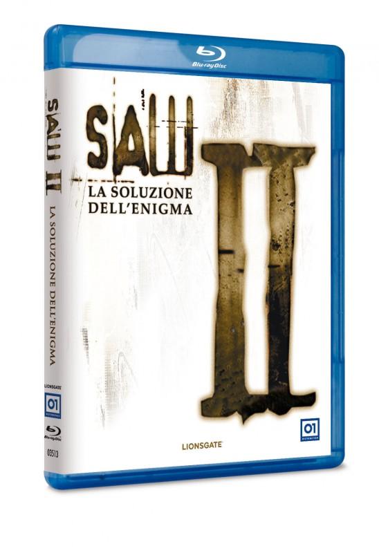 La copertina di Saw II - La soluzione dell'enigma (blu-ray)
