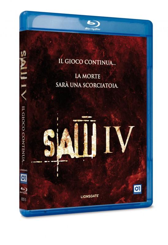 La copertina di Saw IV (blu-ray)