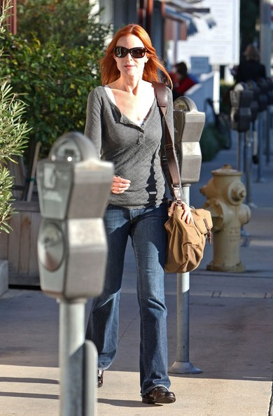 Marcia Cross lascia il Brentwood Country Mart