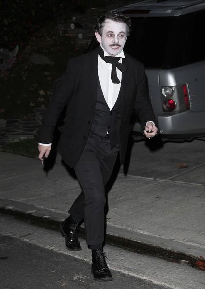 Michael Sheen truccato per la festa di Halloween 2010