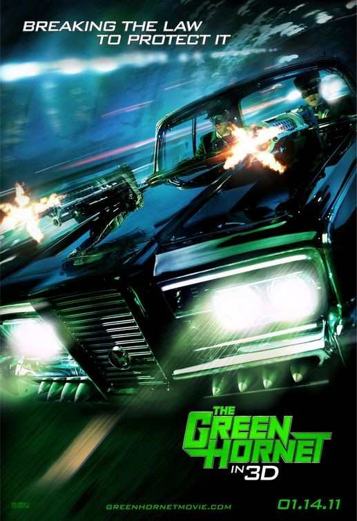 Nuovo poster per The Green Hornet
