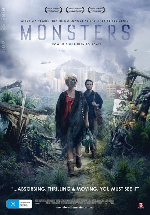 Poster australiano per il film Monsters