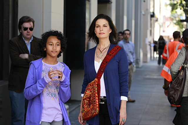 Sela Ward in CSI: New York nell'episodio Do Not Pass Go