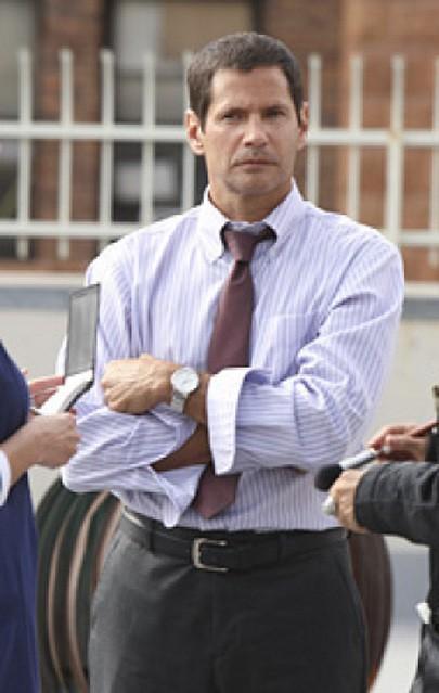 Thomas Calabro in CSI: New York nell'episodio Do Not Pass Go