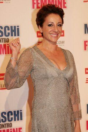 Carla Signoris alla Premiere di Maschi contro Femmine Roma - Auditorium della Conciliazione