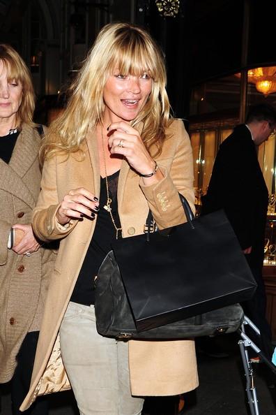 Kate Moss con la madre a pranzo da Cipriani a Londra