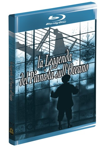 La copertina di La leggenda del pianista sull'oceano (blu-ray)