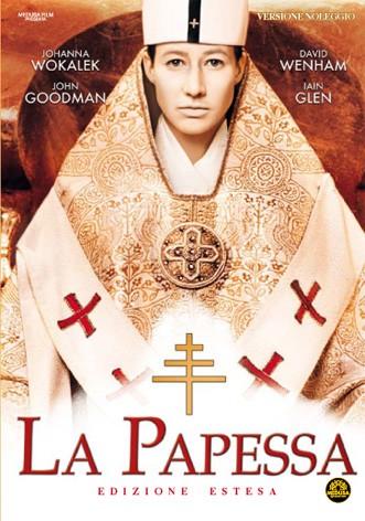La copertina di La papessa (dvd)