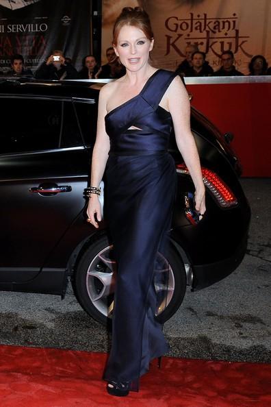 Roma 2010: Julianne Moore protagonista de I ragazzi stanno bene ad un evento Lancia Cafè