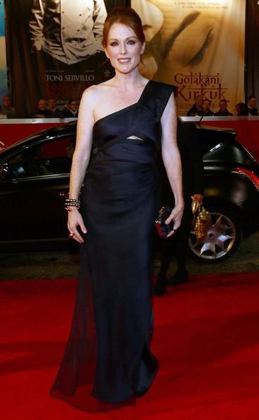 Roma 2010: Julianne Moore, star de I ragazzi stanno bene ad un evento Lancia Cafè