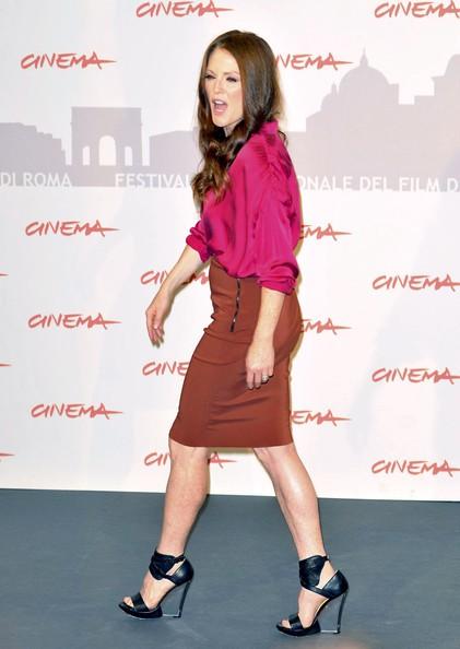 Roma 2010: una splendida e sexy Julianne Moore presenta I ragazzi stanno bene