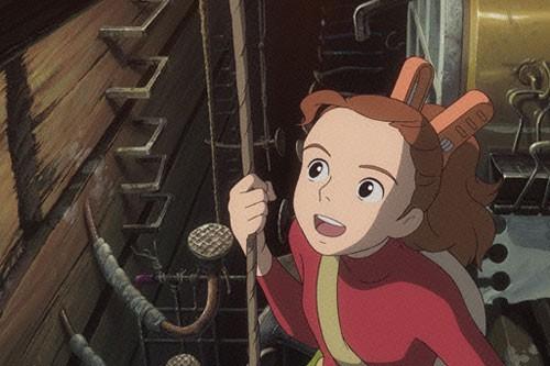 Una scena di The Borrower Arrietty