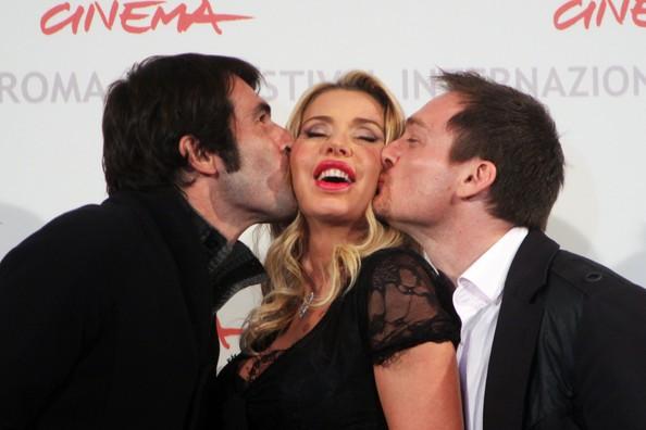 Valeria Marini, Ben Temple, Christian Molina presentano a Roma 2010 I Want to Be a Soldier
