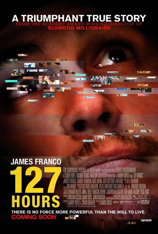 Final poster per 127 Hours