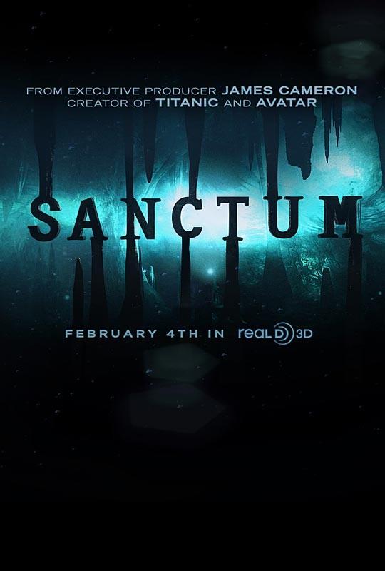 La locandina di Sanctum 3D