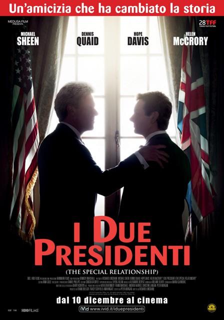 La locandina italiana de I due presidenti