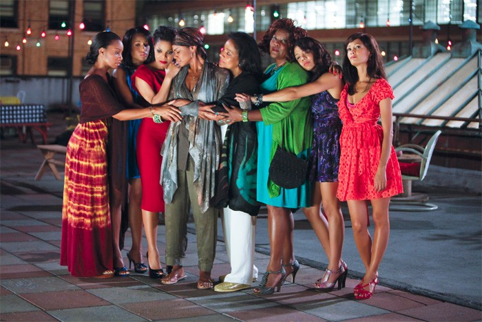Il cast all women del film For Colored Girls Who Have Considered Suicide When the Rainbow Is Enuf