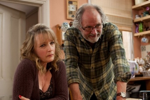 Jim Broadbent e Lesley Manville, protagonisti del film Another Year