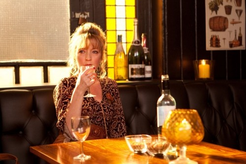 Lesley Manville in una scena del film Another Year