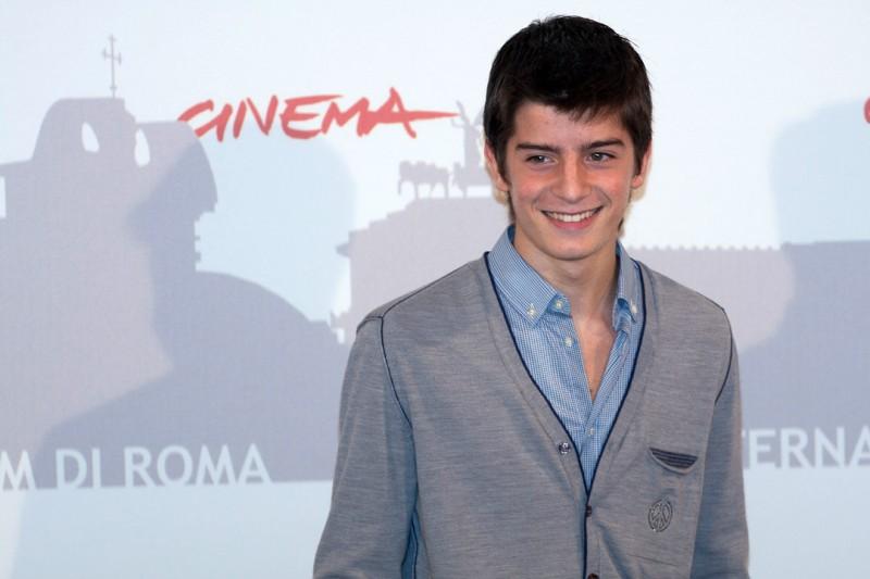 Roma 2010, il giovane Luigi Ciardo, protagonista de L'estate di Martino