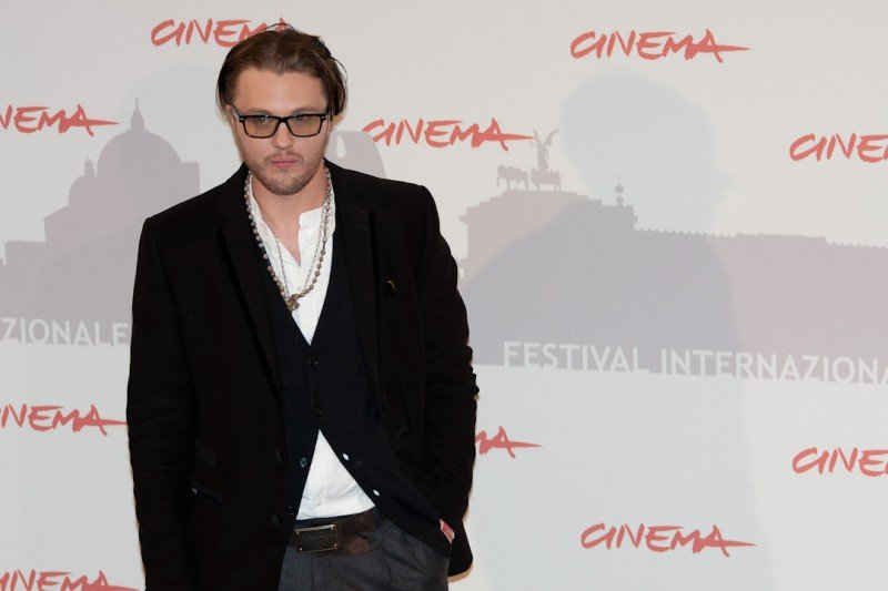 Roma 2010, Michael Pitt, protagonista di Boardwalk Empire, durante il photocall