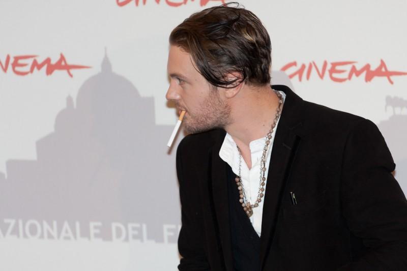 Roma 2010, Michael Pitt, protagonista di Boardwalk Empire, si lascia fotografare