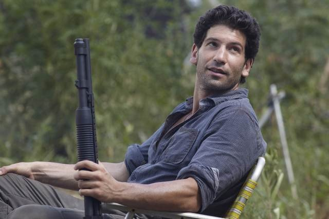Jon Bernthal nell'episodio Bentornato papà di The Walking Dead