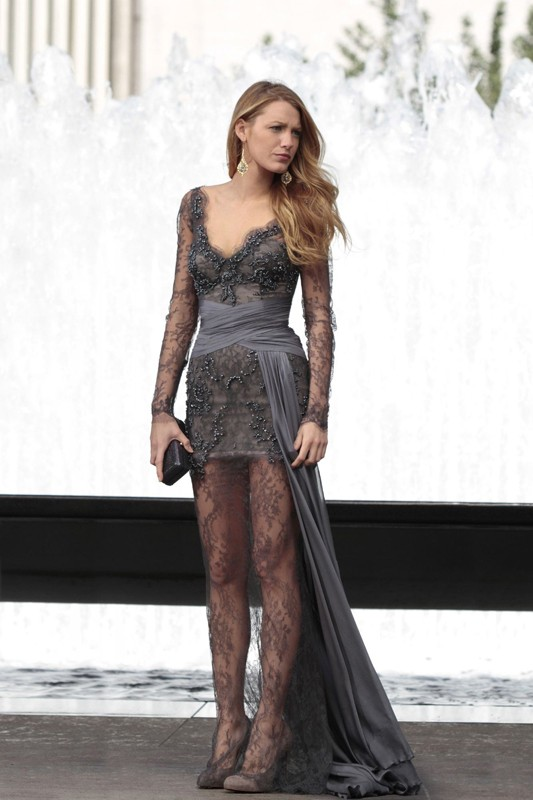L'elegantissima Serena (Blake Lively) nell'episodio Juliet Doesn't Live Here Anymore di Gossip Girl