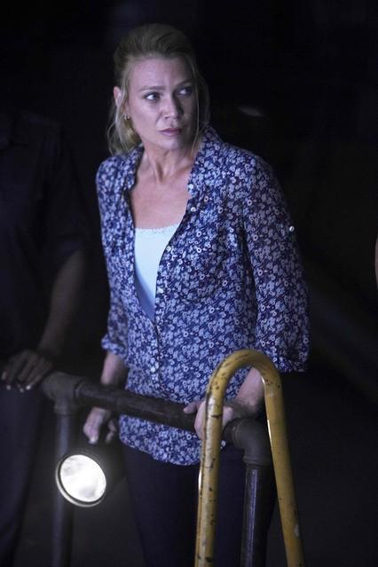 Laurie Holden nell'episodio Una via d'uscita di The Walking Dead