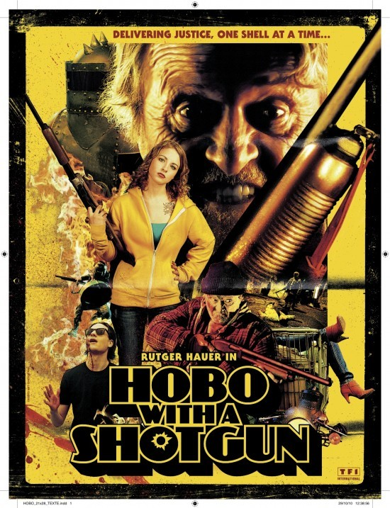 Manifesto di Hobo with a Shotgun