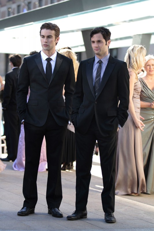 Nate (Chace Crawford) e Dan (Penn Badgley) nell'episodio Juliet Doesn't Live Here Anymore di Gossip Girl