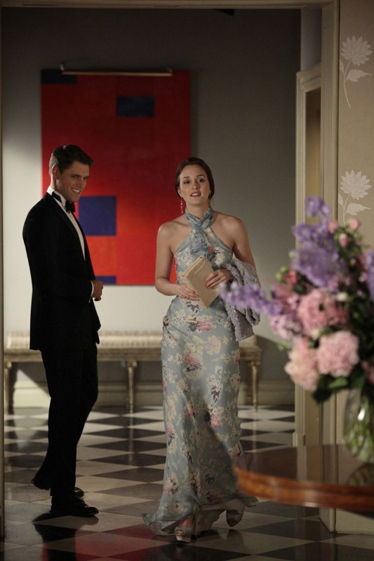 Sam Page e Leighton Meester in una scena dell'episodio Juliet Doesn't Live Here Anymore di Gossip Girl