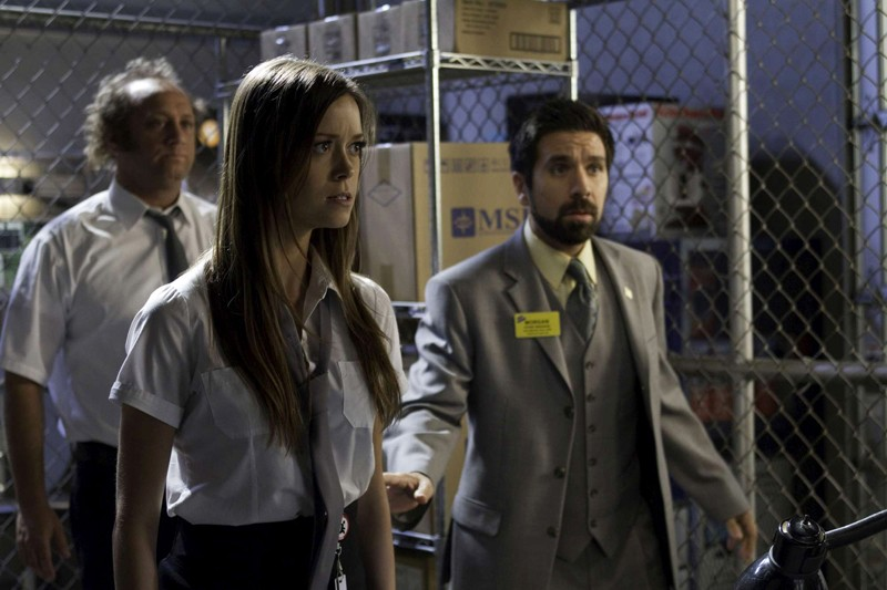 Scott Krinsky, Summer Glau e Joshua Gomez in Chuck Versus The Fear of Death