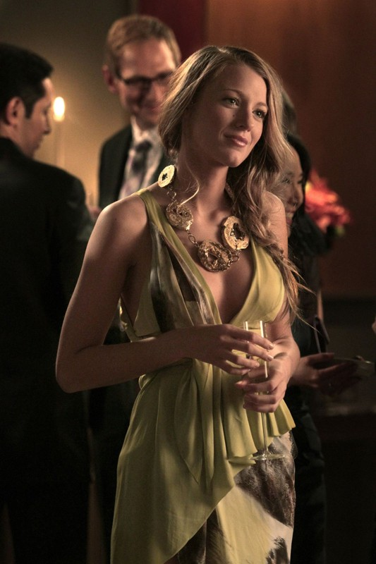 Serena (Blake Lively) nell'episodio War at the Roses di Gossip Girl