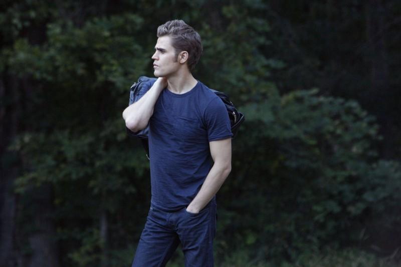Stefan (Paul Wesley) in una scena dell'episodio Rose di Vampire Diaries