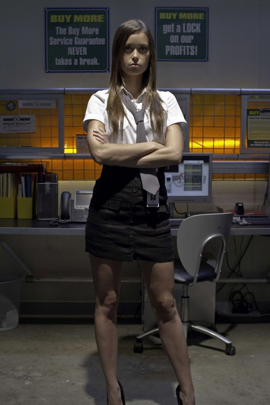 Summer Glau interpreta Greta nell'episodio Chuck Versus The Fear of Death