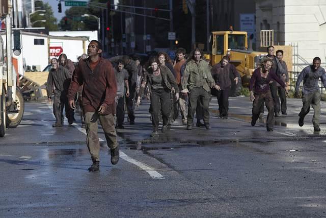 Un momento dell'episodio Una via d'uscita di The Walking Dead