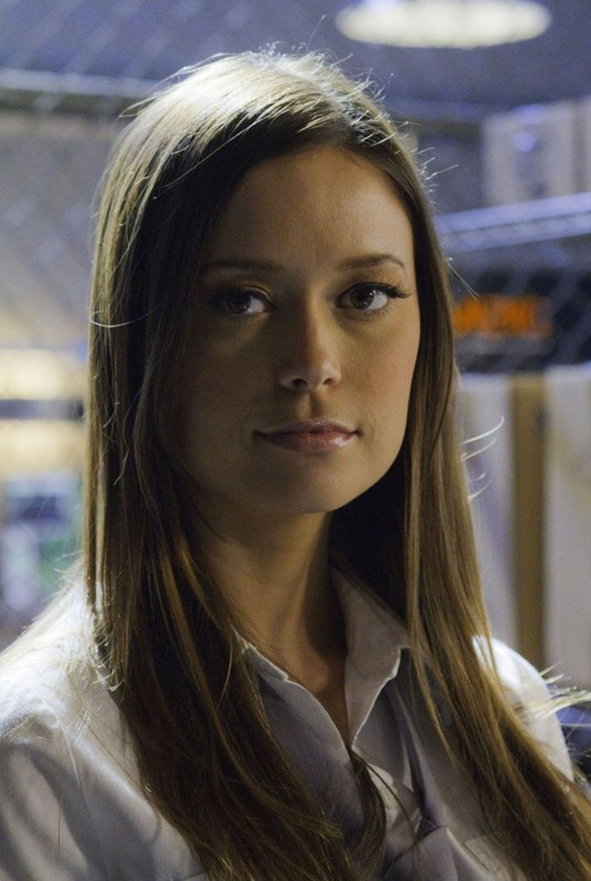 Un primo piano di Summer Glau nell'episodio Chuck Versus The Fear of Death